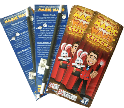 Magic Wand Pack Trick