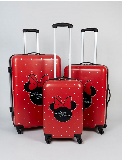 Disney Minnie Mouse Suitcases